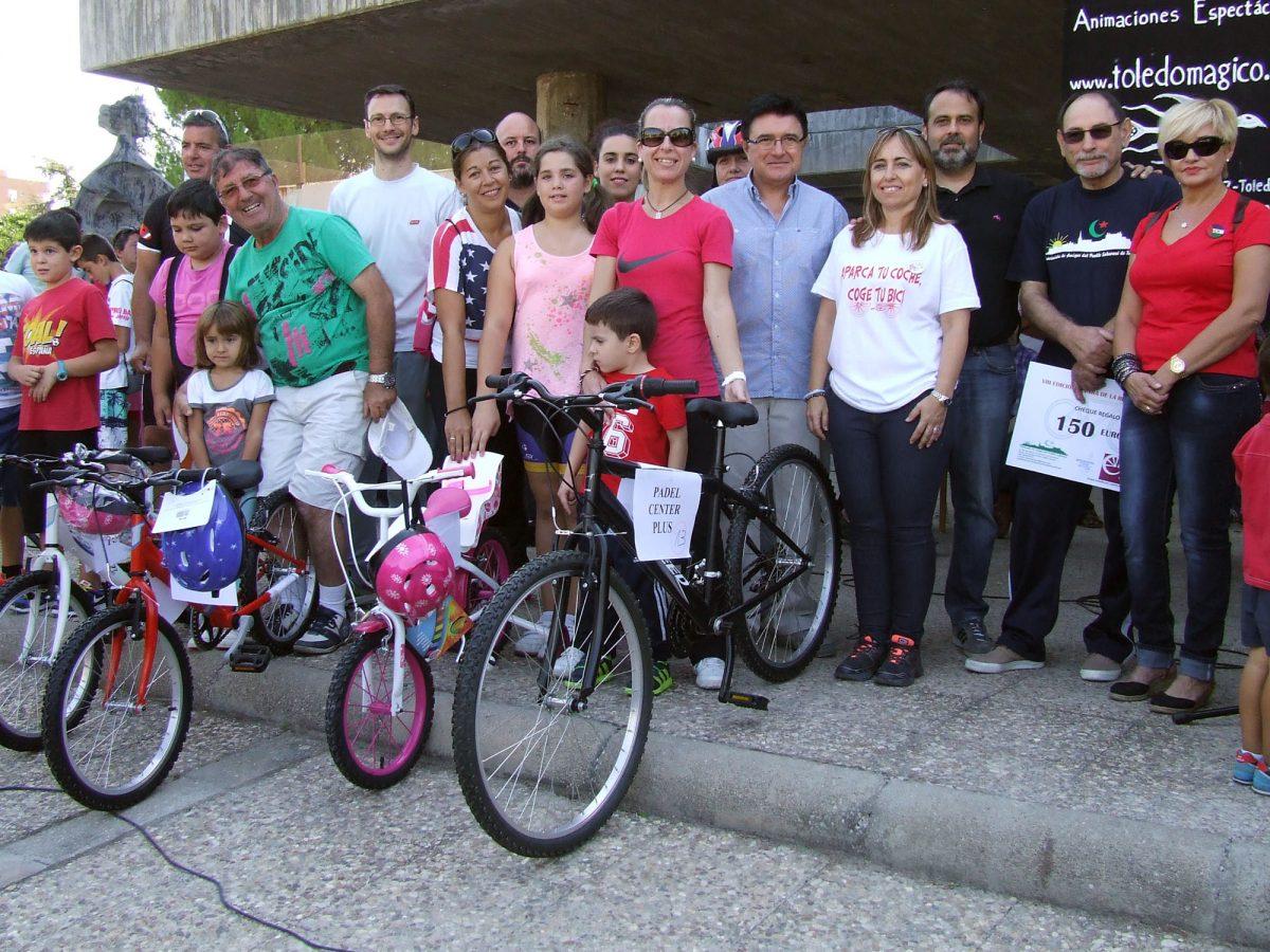 El Polígono celebra su VIII Día de la Bicicleta con un gran número de participantes y el apoyo de Gobierno municipal