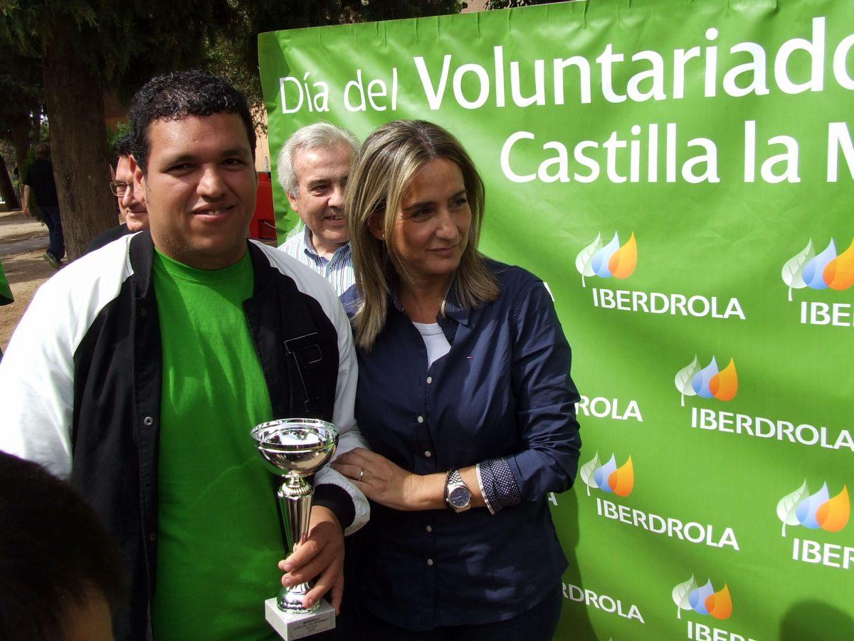 La alcaldesa expresa el apoyo del Ayuntamiento a las personas con discapacidad en el X Día del Voluntariado de Iberdrola