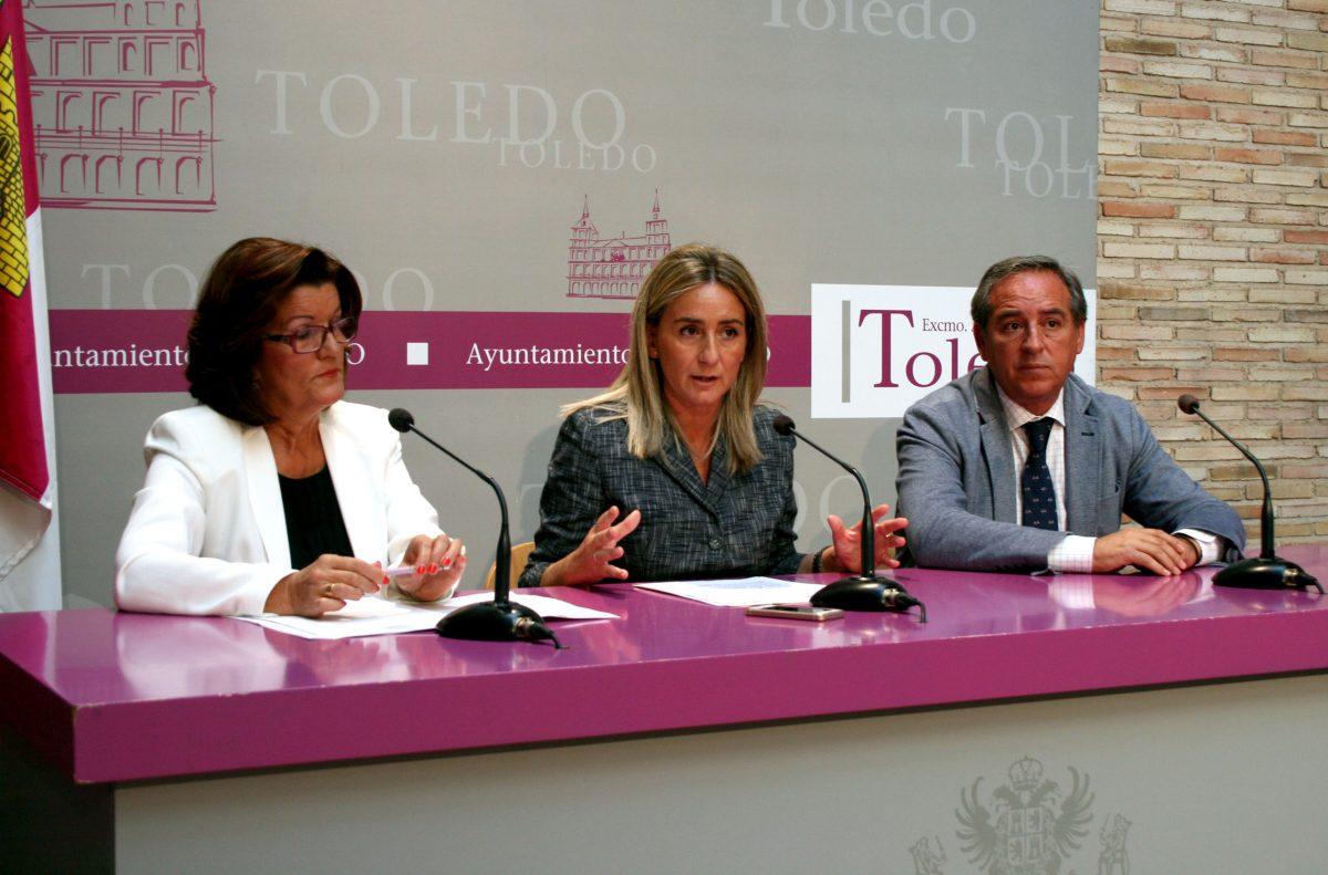 Tolón invita a la participación en la Feria del Empleo de Toledo que se celebra los días 1 y 2 de octubre en la Fábrica de Armas