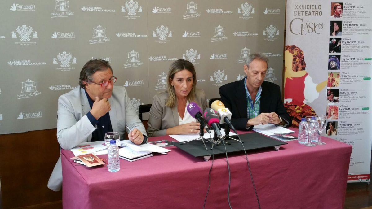"""https://www.toledo.es/wp-content/uploads/2015/09/img-20150904-wa0007-1-1200x675.jpg. La alcaldesa de Toledo destaca la """"variada y heterogénea"""" programación de otoño del Teatro de Rojas"""