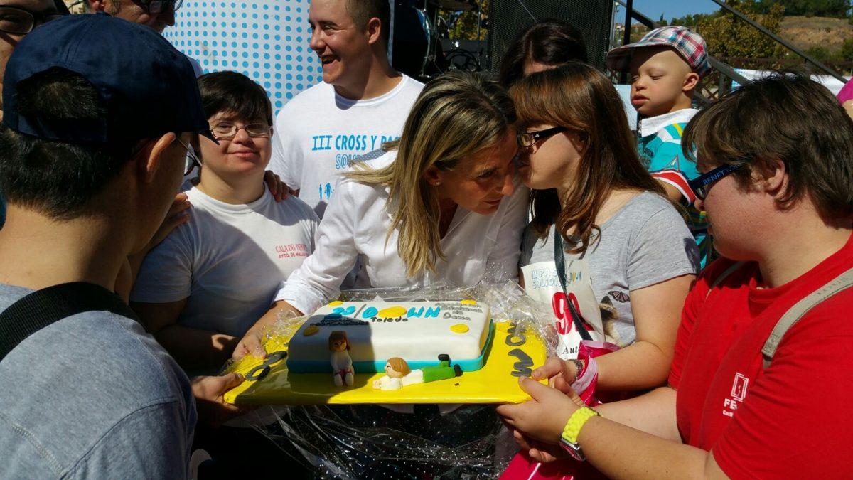 La alcaldesa anuncia que el Ayuntamiento de Toledo cederá una instalación municipal a la Asociación Down Toledo