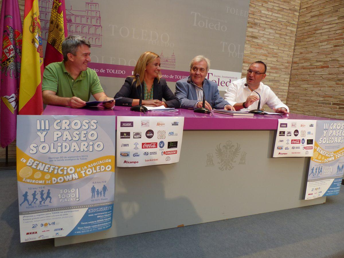 El Ayuntamiento colabora con Down Toledo en el III Cross y Paseo solidario que se celebra en su 25 aniversario