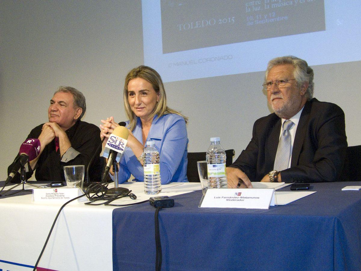 La alcaldesa presenta en Madrid ante medios especializados y nacionales la propuesta cultural y turística de la ciudad de Toledo