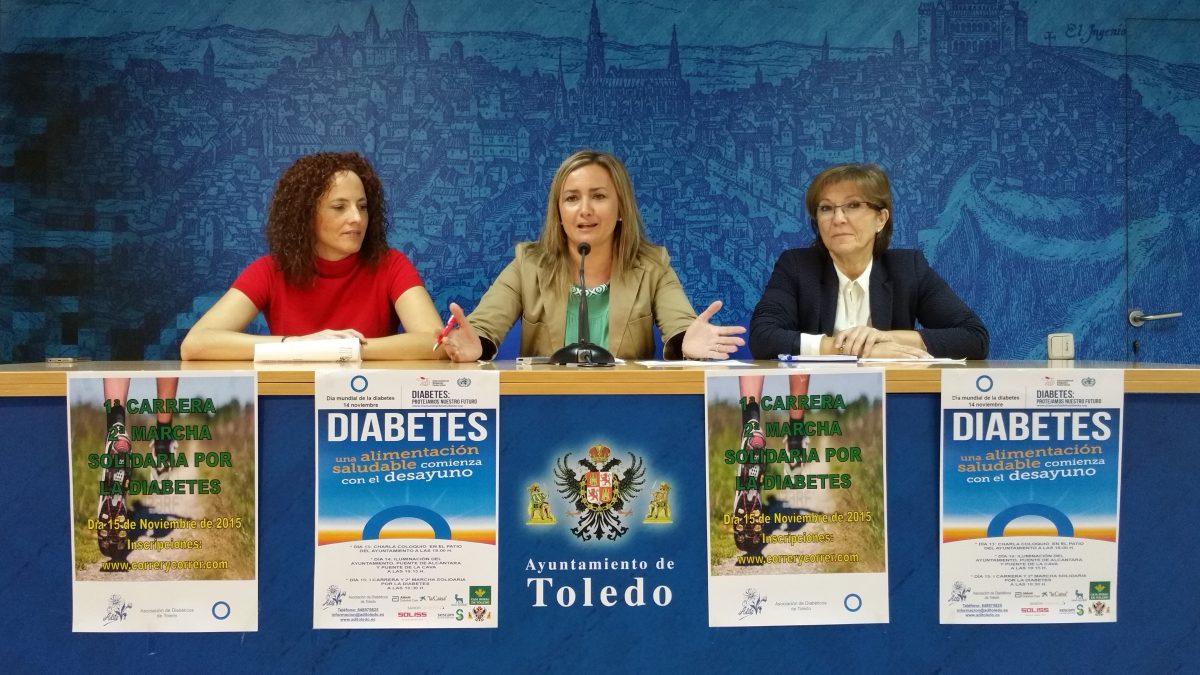 El Ayuntamiento colabora en las actividades que tendrán lugar la semana próxima con motivo del Día Mundial de la Diabetes