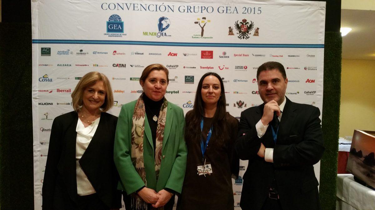 La concejala de Turismo da la bienvenida a más de 200 agentes de viajes que celebran en Toledo la convención del Grupo GEA