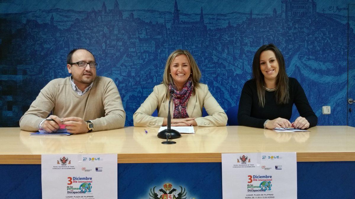 El Ayuntamiento colabora en la celebración del Día Internacional de las personas con Discapacidad el 3 de diciembre