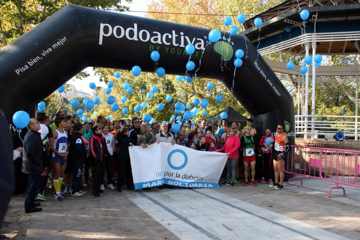 La Carrera y la Marcha solidaria ponen el punto y final a las actividades organizadas por el Día Mundial de la Diabetes