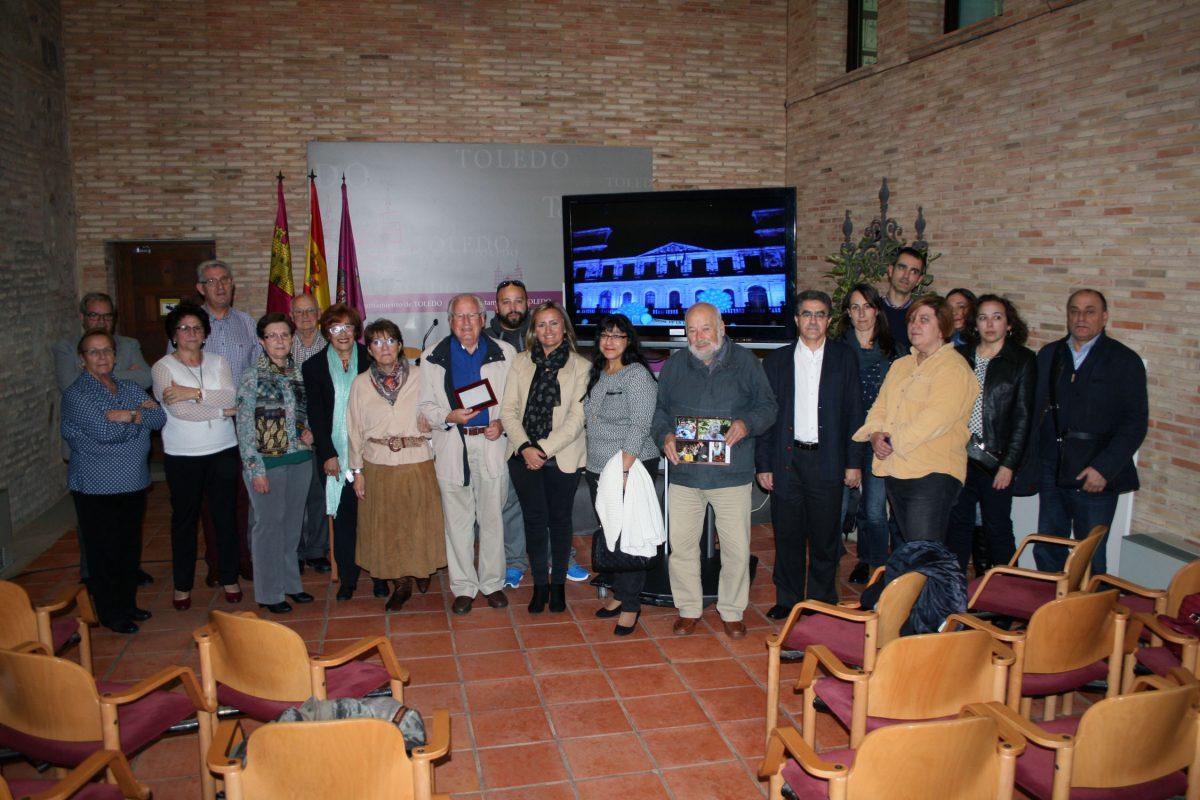 Reconocimiento en el Consistorio a la labor de dos destacados miembros de la Asociación de Diabéticos de Toledo