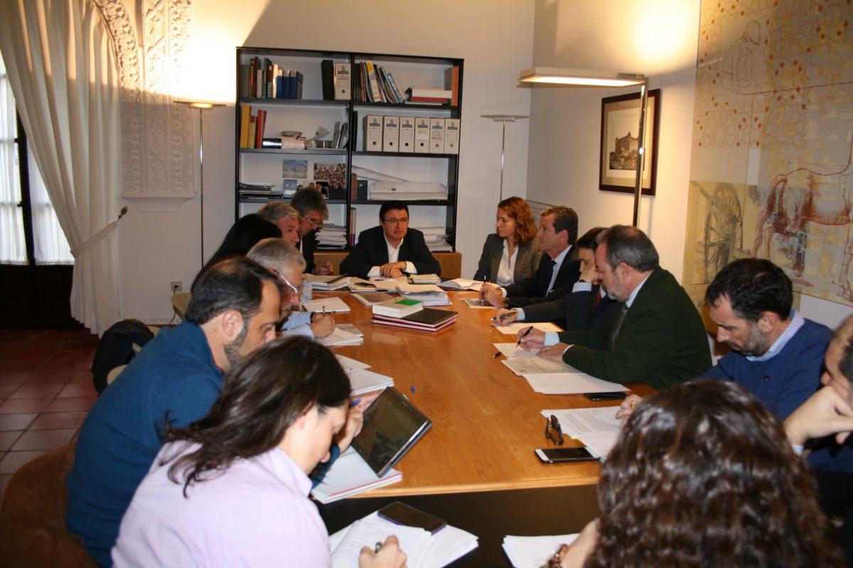 La Comisión de Urbanismo del Ayuntamiento aprueba el Reglamento del Pacto de la Ciudad de Toledo por el Tajo