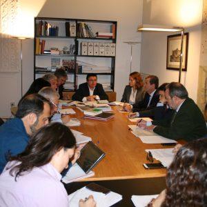 a Comisión de Urbanismo del Ayuntamiento aprueba el Reglamento del Pacto de la Ciudad de Toledo por el Tajo