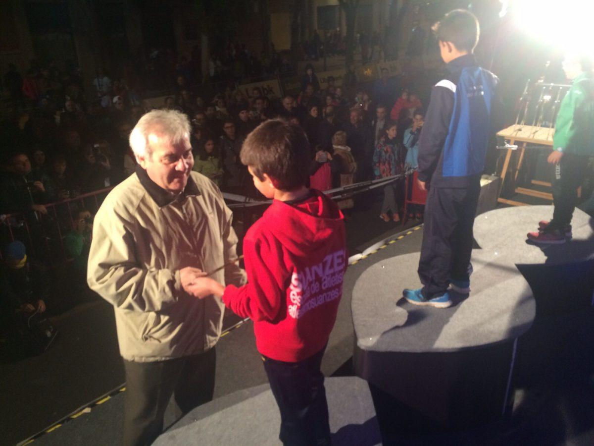"""El Ayuntamiento participa en la entrega de premios de la 28 Marcha Atlética """"Espada Toledana"""""""
