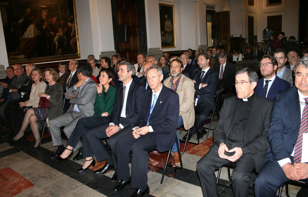 """El vicealcalde asiste a la presentación de """"Memorias del Cigarral"""" que repasa las vicisitudes de la casa de Marañón en Toledo"""