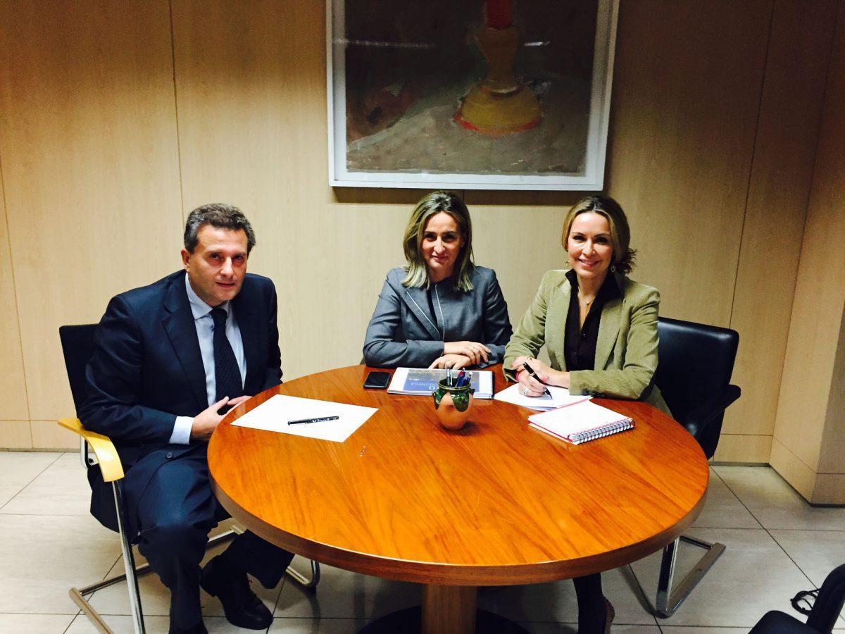 La alcaldesa traslada al Ministerio de Industria y Turismo el proyecto de Toledo como Capital Española de la Gastronomía