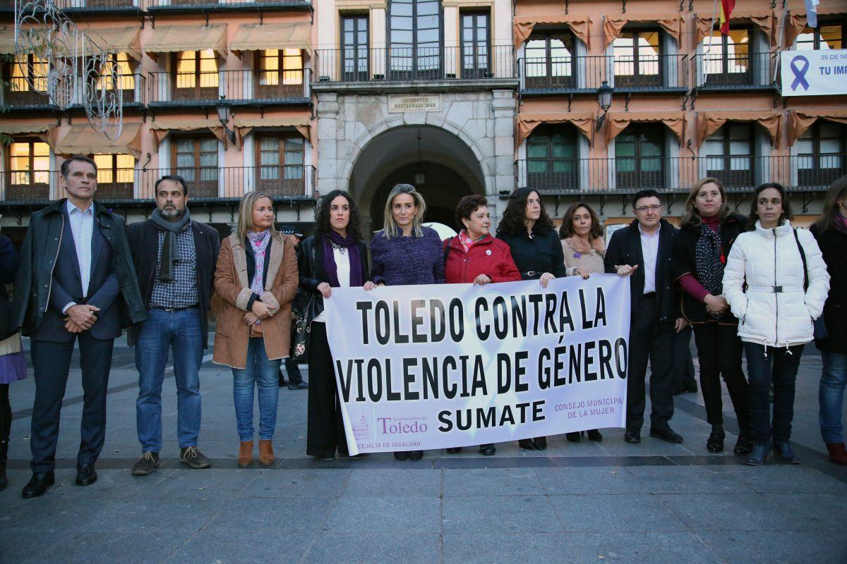 """La ciudad de Toledo a las víctimas de la violencia machista: """"No sufráis, aquí estamos para ayudaros"""""""