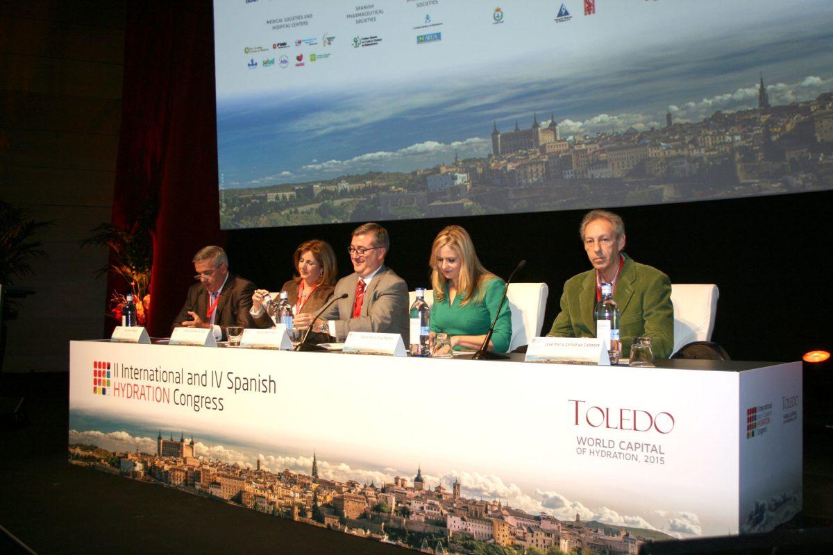http://www.toledo.es/wp-content/uploads/2015/12/congreso_hidratacion-1200x800.jpg. El II Congreso Internacional de Hidratación, que acoge en Toledo a 700 profesionales, recibe el apoyo del Ayuntamiento