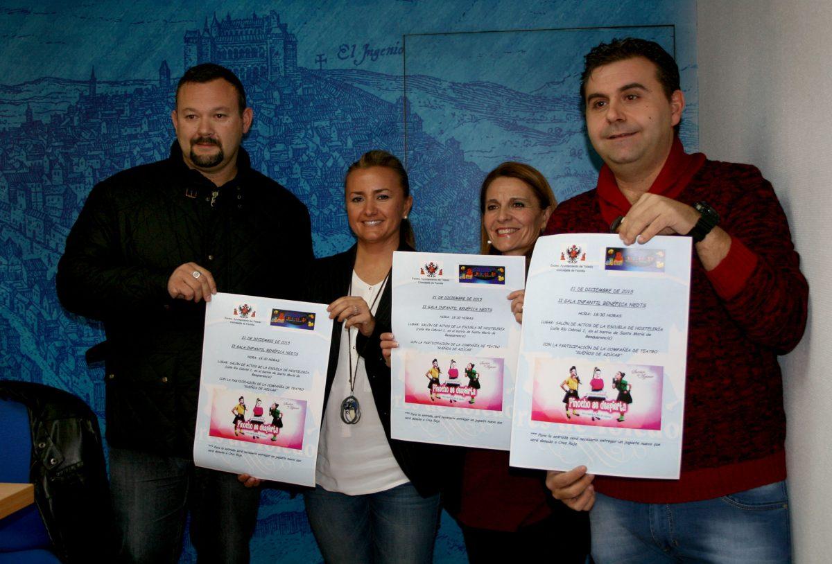 http://www.toledo.es/wp-content/uploads/2015/12/gala_juguetes01-1200x814.jpg. El Ayuntamiento colabora en la II Gala Infantil Benéfica 'Un juguete, una sonrisa' que se celebrará el 21 de diciembre