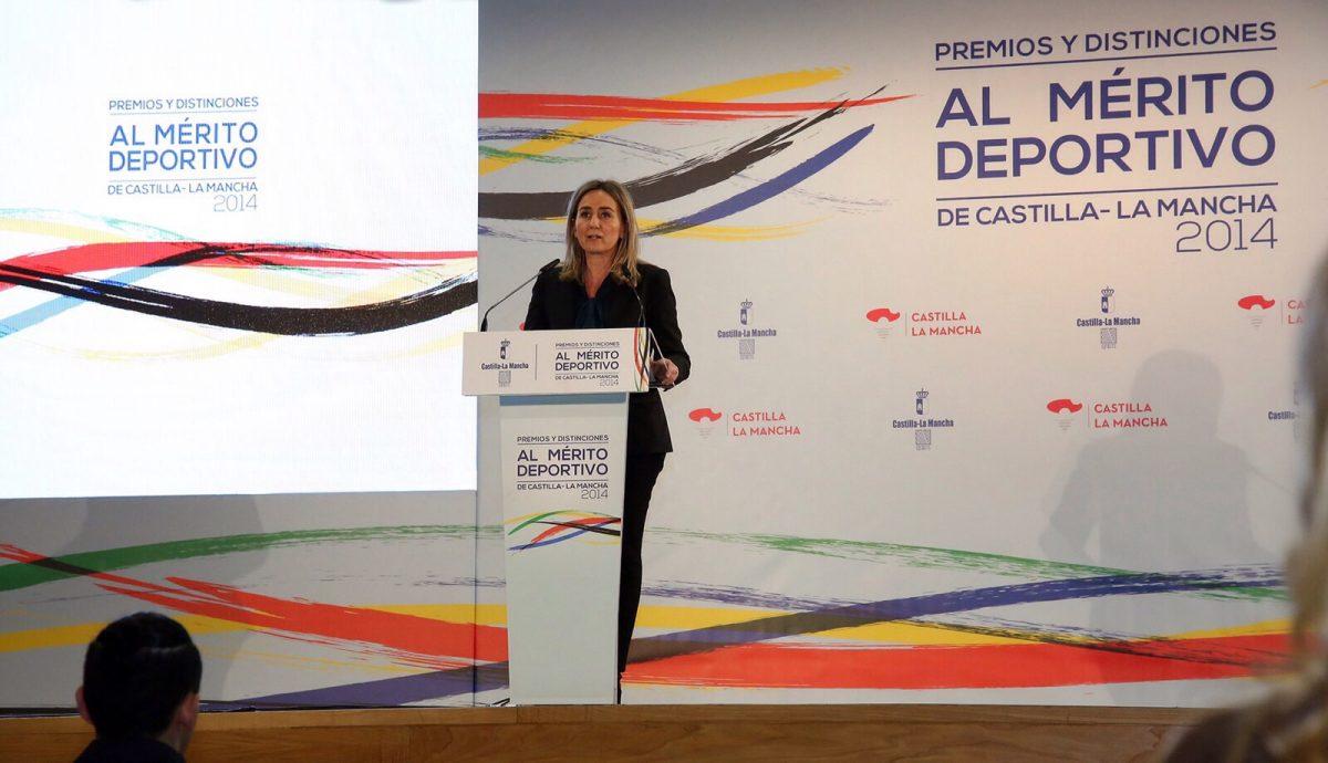 """http://www.toledo.es/wp-content/uploads/2015/12/img-20151211-wa0015-1200x690.jpg. La alcaldesa destaca el ejemplo de """"superación, fortaleza y empeño"""" de APANAS en los Premios al Mérito Deportivo en CLM"""
