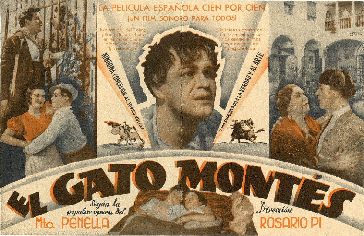 http://www.toledo.es/wp-content/uploads/2015/12/pc_034_el-gato-montes-2-1-1200x780.jpg. Nueva exposición del Archivo Municipal dedicada a programas de cine