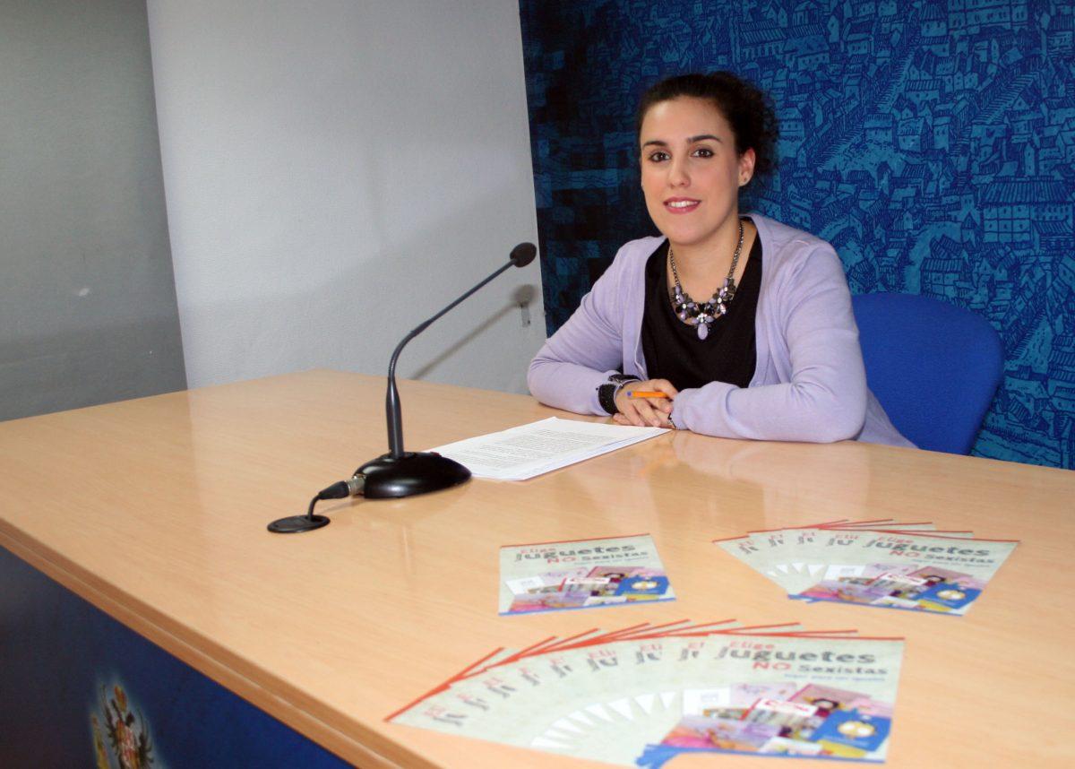 http://www.toledo.es/wp-content/uploads/2015/12/sandoval_juguetes_sexistas-1200x858.jpg. El Ayuntamiento pone en marcha una campaña para fomentar la igualdad a través de la compra de juguetes no sexistas