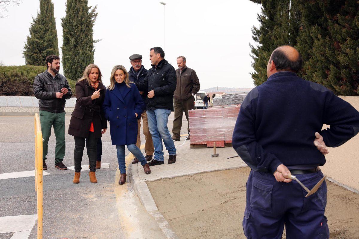 El Ayuntamiento crea un itinerario accesible en La Legua y firmará un convenio con Río Chico para los huertos urbanos