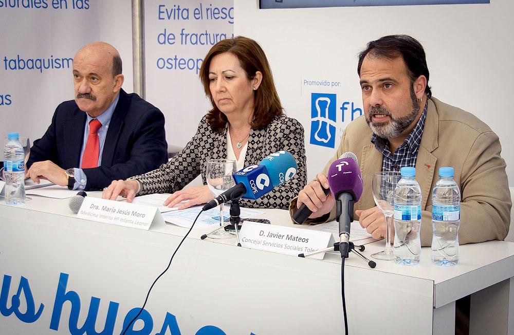 """El concejal de Servicios Sociales destaca las """"consecuencias sociales"""" de la osteoporosis y reivindica su tratamiento precoz"""