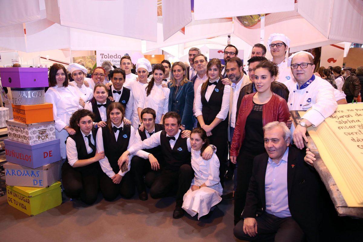 La alcaldesa anuncia la presencia de Toledo en Madrid Fusión con un stand propio como Capital Española de la Gastronomía