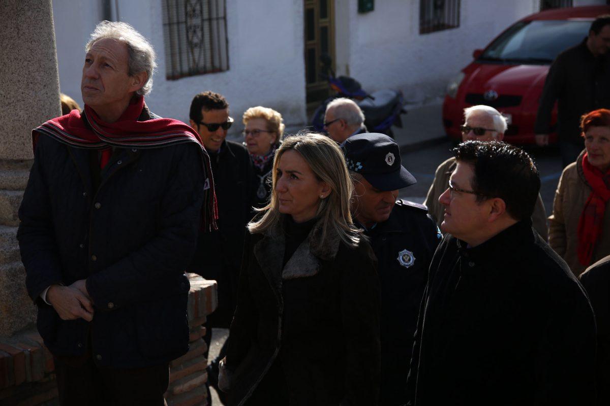 Milagros Tolón participa en los actos organizados con motivo de la festividad de San Antonio Abad