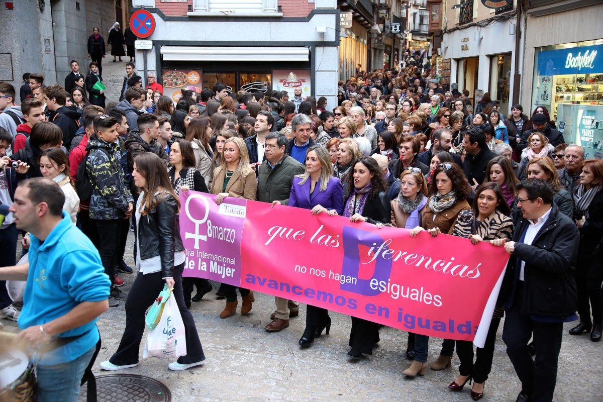 """Toledo muestra su apoyo a una sociedad justa y que la igualdad entre hombres y mujeres """"sea real y no un mero formalismo"""""""