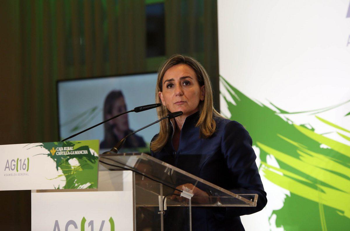 """La alcaldesa destaca la """"estabilidad, la credibilidad, la cercanía, la prudencia y el rigor"""" de Caja Rural Castilla-La Mancha"""