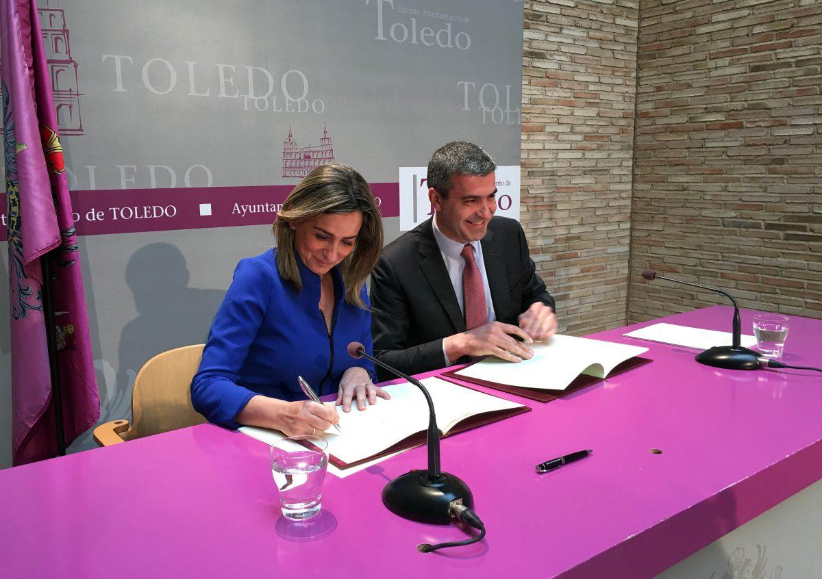 La alcaldesa anuncia la actuación en Toledo de Carlos Baute el 21 de mayo y de Estopa el 11 de junio