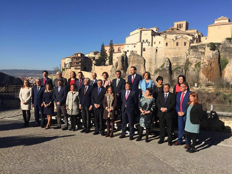 Los 15 alcaldes del Grupo de Ciudades Patrimonio respaldarán el 25 de mayo en Toledo la Capitalidad Gastronómica y el Corpus