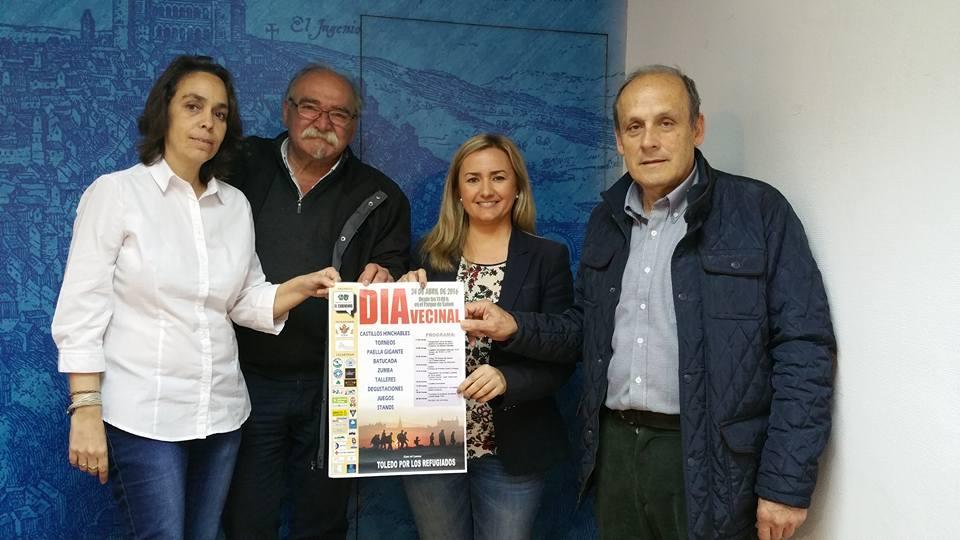 El XIV Día Vecinal tendrá lugar este domingo en el parque de Safont bajo el lema 'Toledo por los refugiados'