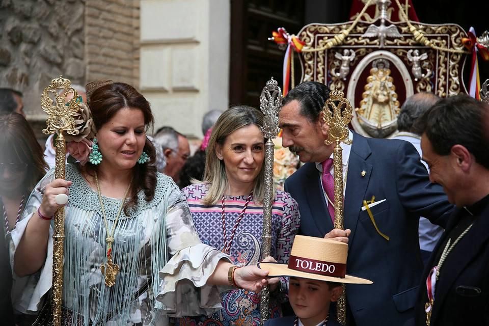 Tolón acompaña a la Hermandad de Nuestra Señora del Rocío de Toledo en su tradicional misa, previa a la romería a La Peraleda