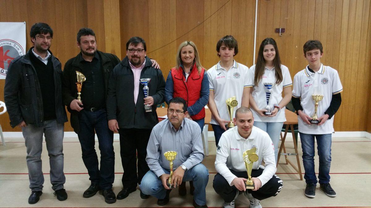El equipo de Gobierno participa en la entrega de premios del Campeonato Provincial Absoluto de Ajedrez