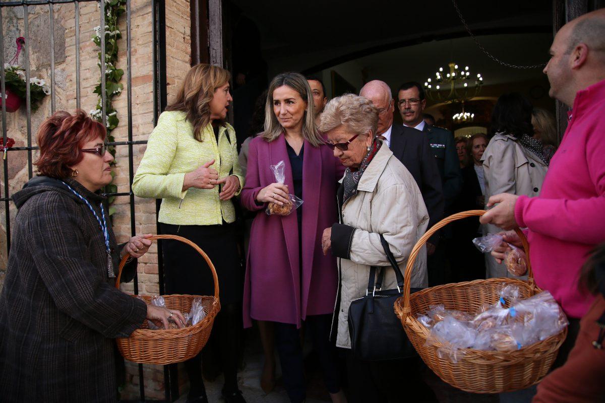 """Milagros Tolón destaca la necesidad de renovar la tradición de las romerías """"para construir el Toledo del siglo XXI"""""""