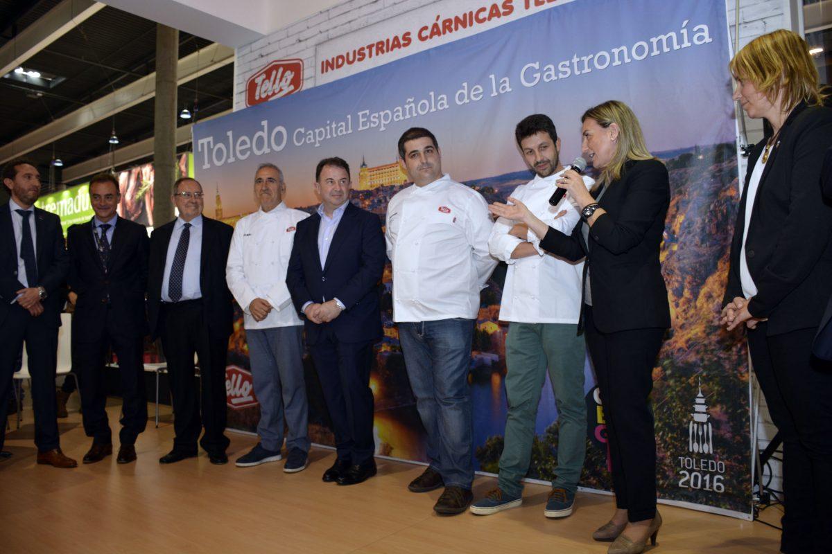 Toledo promociona su oferta como Capital Española de la Gastronomía en Alimentaria 2016, referente europeo del sector