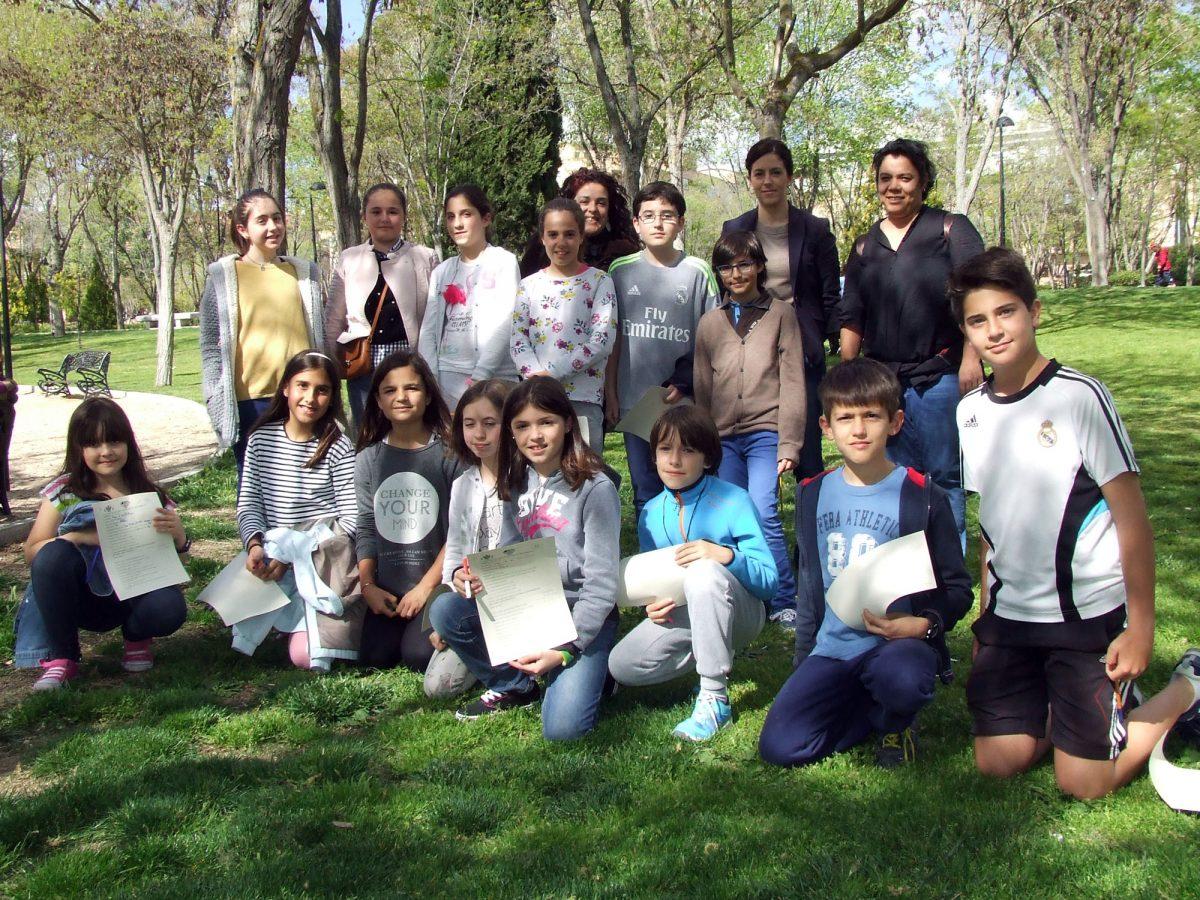El Consejo de Participación Infantil y Adolescente de la Ciudad de Toledo se reúne en el parque de las Tres Culturas