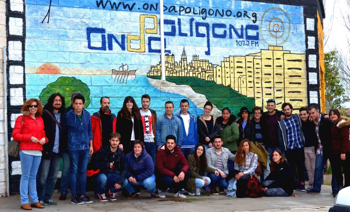 Una treintena de jóvenes toledanos concluye la nueva edición del Taller de Radio organizado por Onda Polígono y el Ayuntamiento
