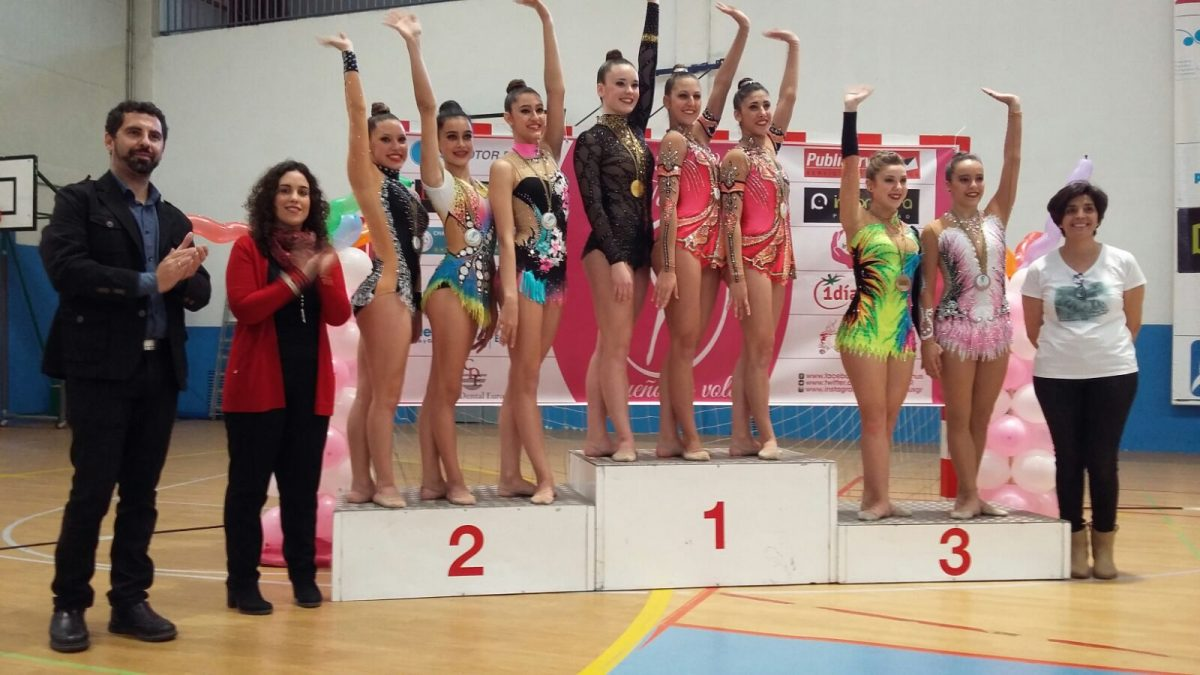 Respaldo del Gobierno municipal a las competiciones de Tiro con Arco y Gimnasia Rítmica celebradas hoy en Toledo