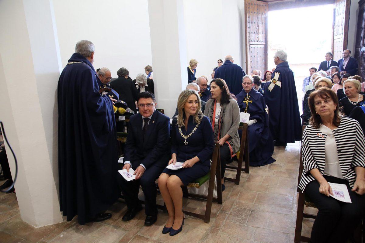 La alcaldesa participa en la liturgia de reapertura de la Iglesia de San Lucas tras el proceso de rehabilitación acometido