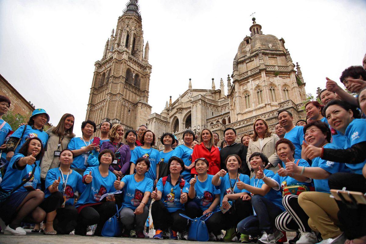 La alcaldesa propondrá a los directivos del grupo Tiens acciones para promocionar la ciudad de Toledo en China