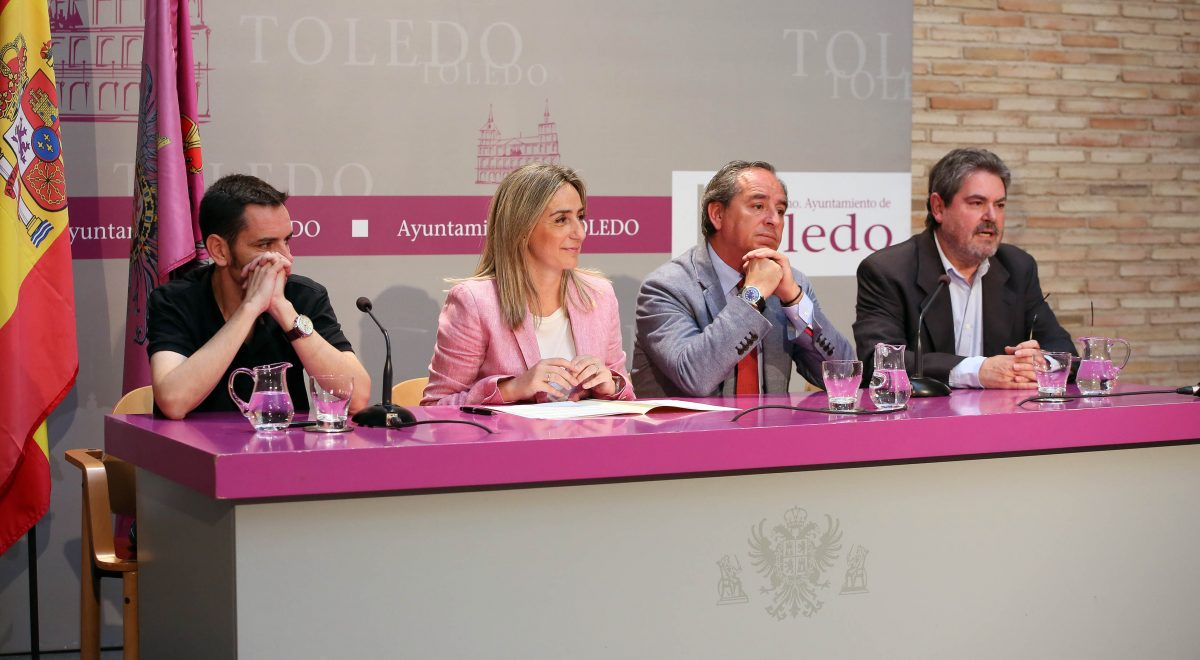 La alcaldesa firma con los agentes sociales el Acuerdo por el Empleo de Toledo y anuncia una Oficina para captar inversiones