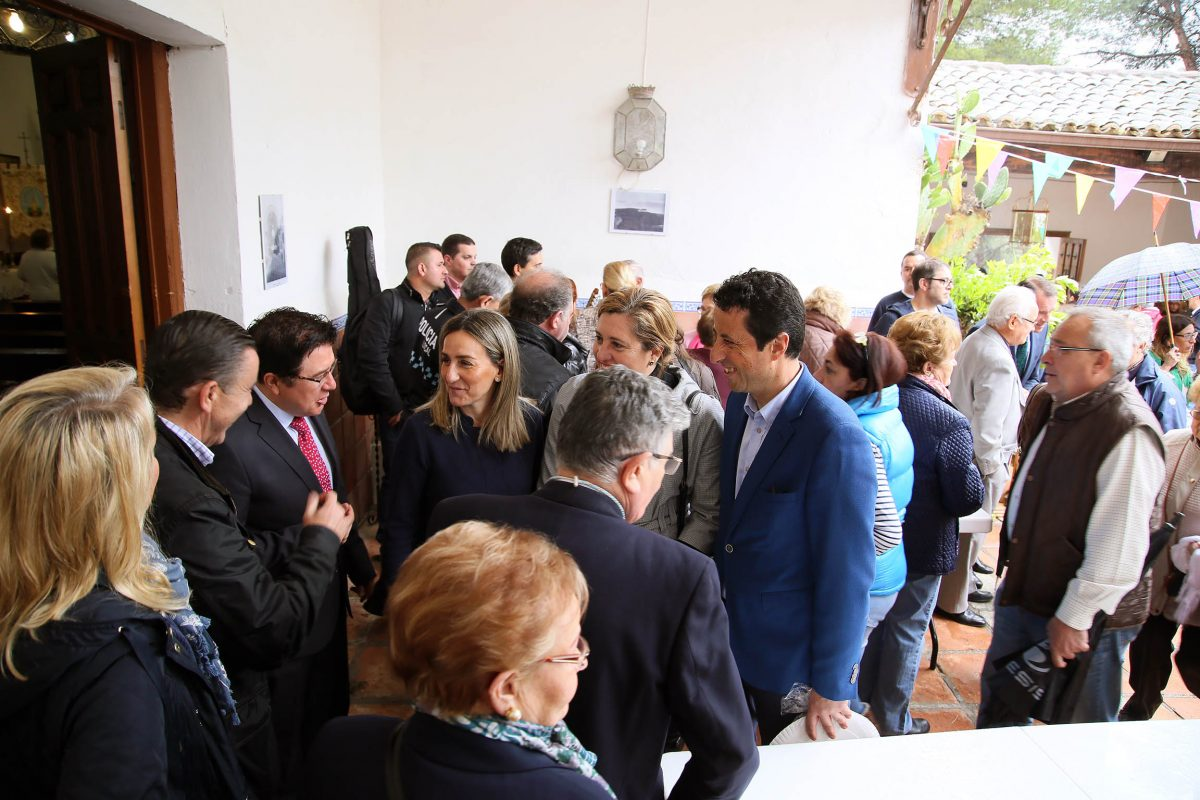 Milagros Tolón participa en la romería de La Bastida y destaca el trabajo del Plan de Empleo con la limpieza del parque