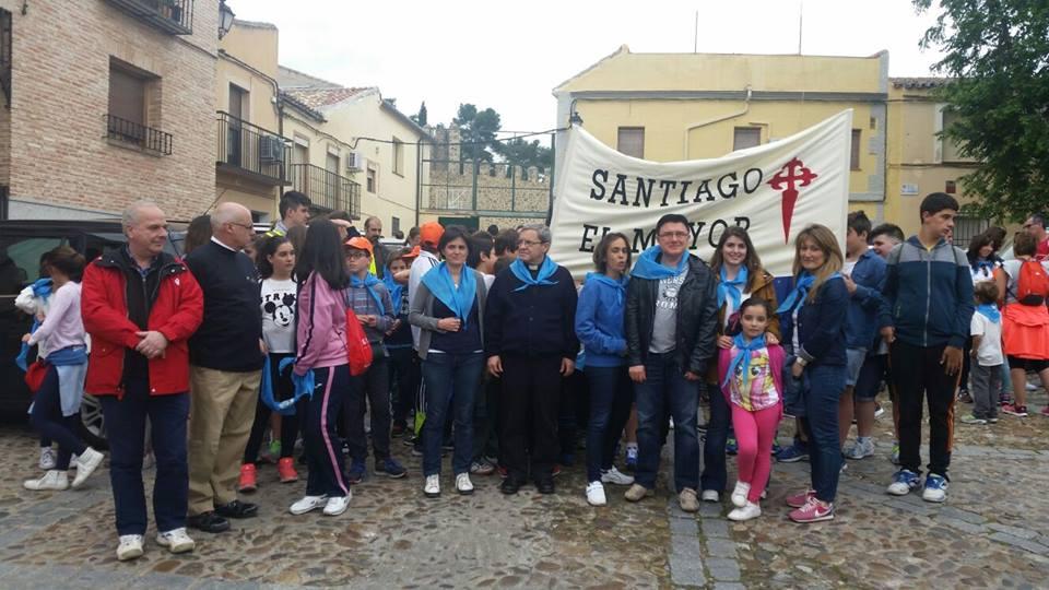 El Ayuntamiento participa en la XI Marcha Solidaria organizada por Santiago el Mayor en beneficio de Cáritas