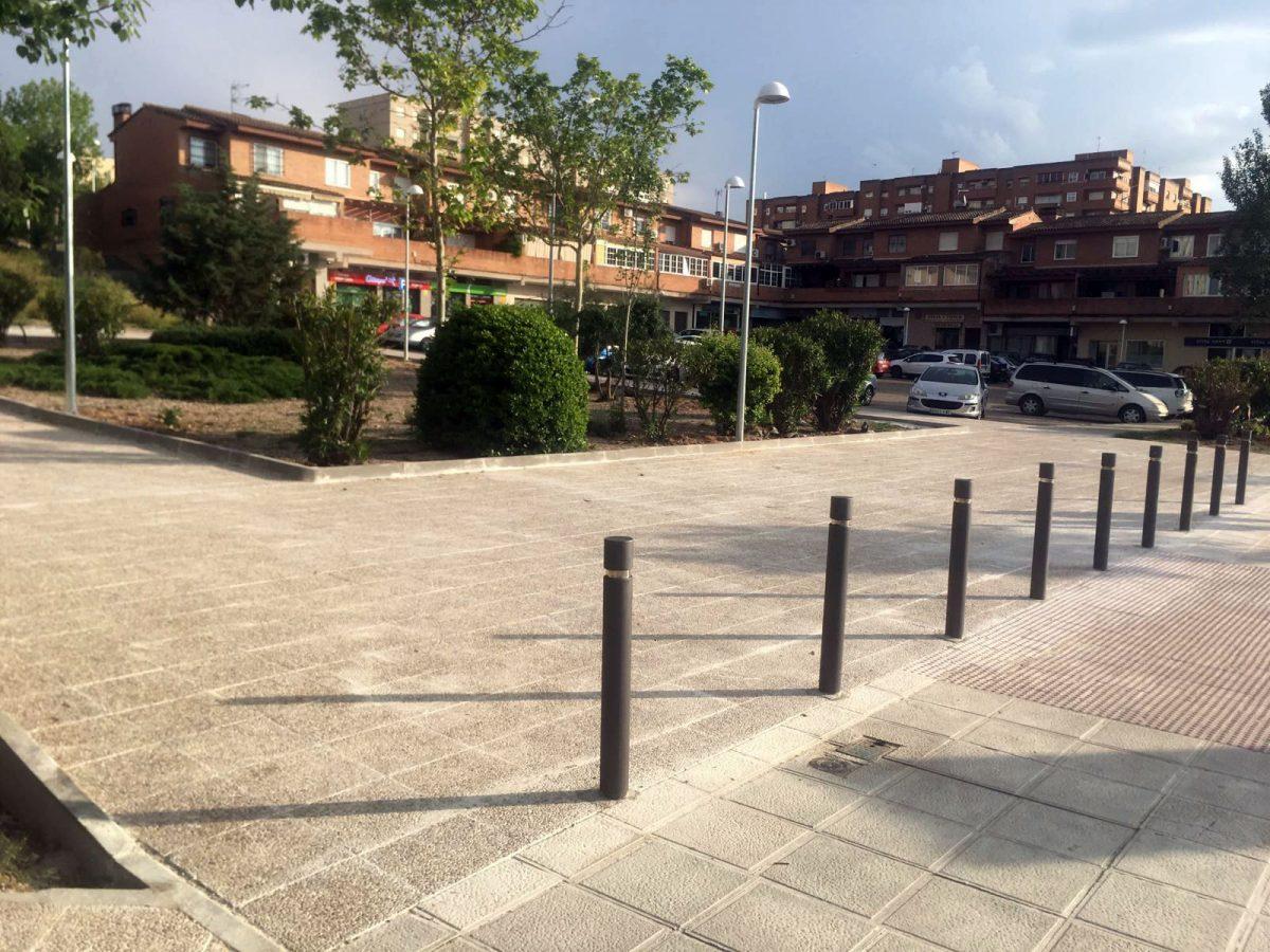 Finalizan las obras de adecentamiento del entorno urbano de la Casa de la Cultura de Santa María de Benquerencia