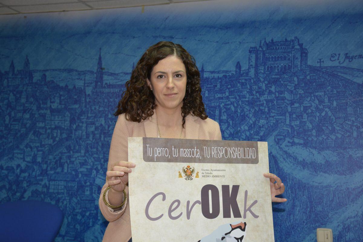 http://www.toledo.es/wp-content/uploads/2016/05/dsc0667-1200x800.jpg. El Ayuntamiento presenta la campaña publicitaria 'CerOKk' para promover la tenencia responsable de mascotas