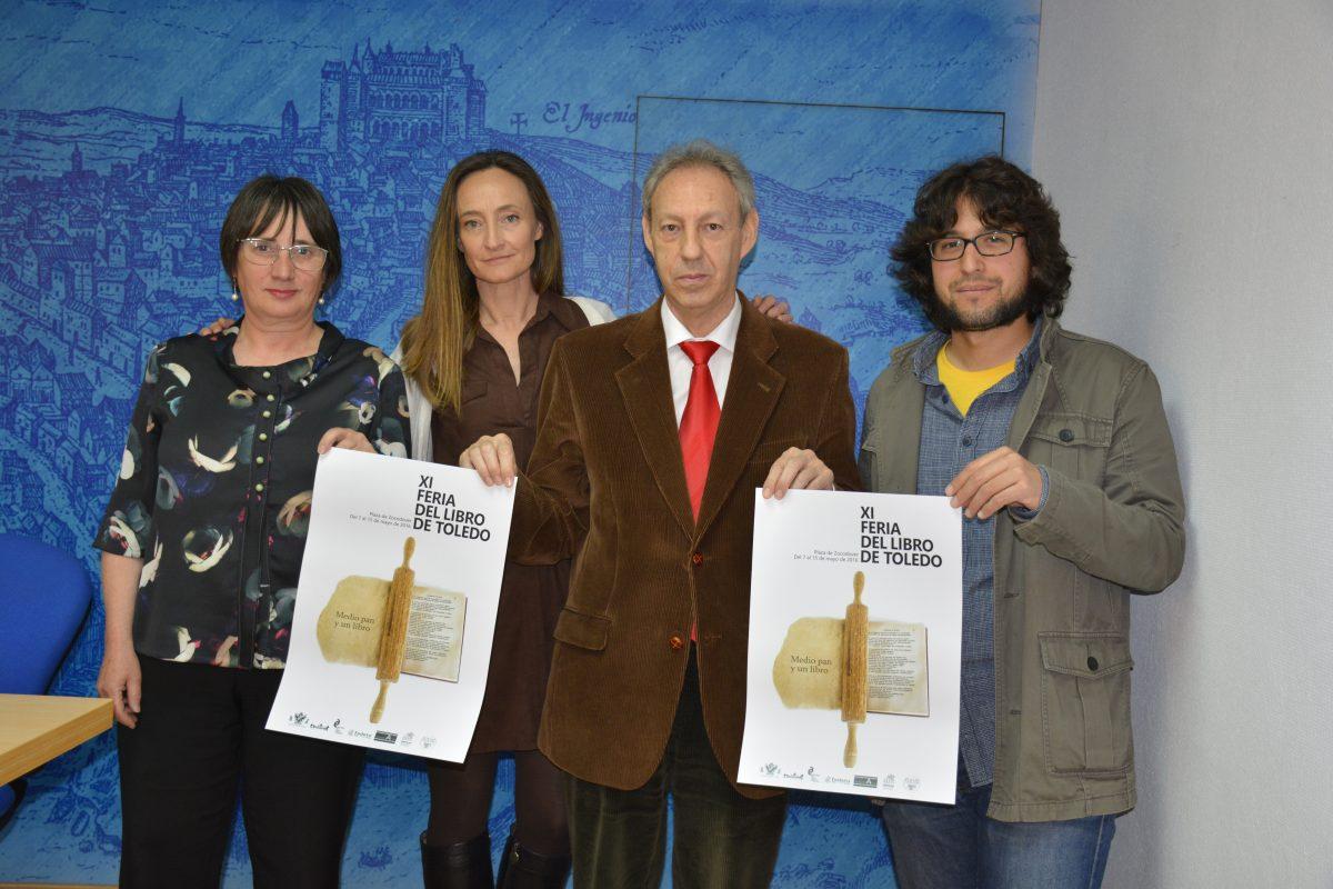 La XI Feria del Libro tendrá lugar del 7 al 15 de mayo y ofrecerá talleres, recitales, conciertos y cuentacuentos en Zocodover