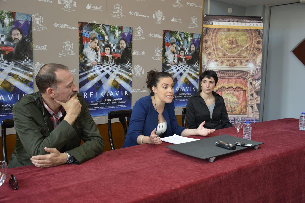 """http://www.toledo.es/wp-content/uploads/2016/05/dsc0731-1200x800.jpg. El Teatro de Rojas acogerá este viernes y sábado la obra 'Reikiavik' que pretende """"cambiar la vida del espectador"""""""