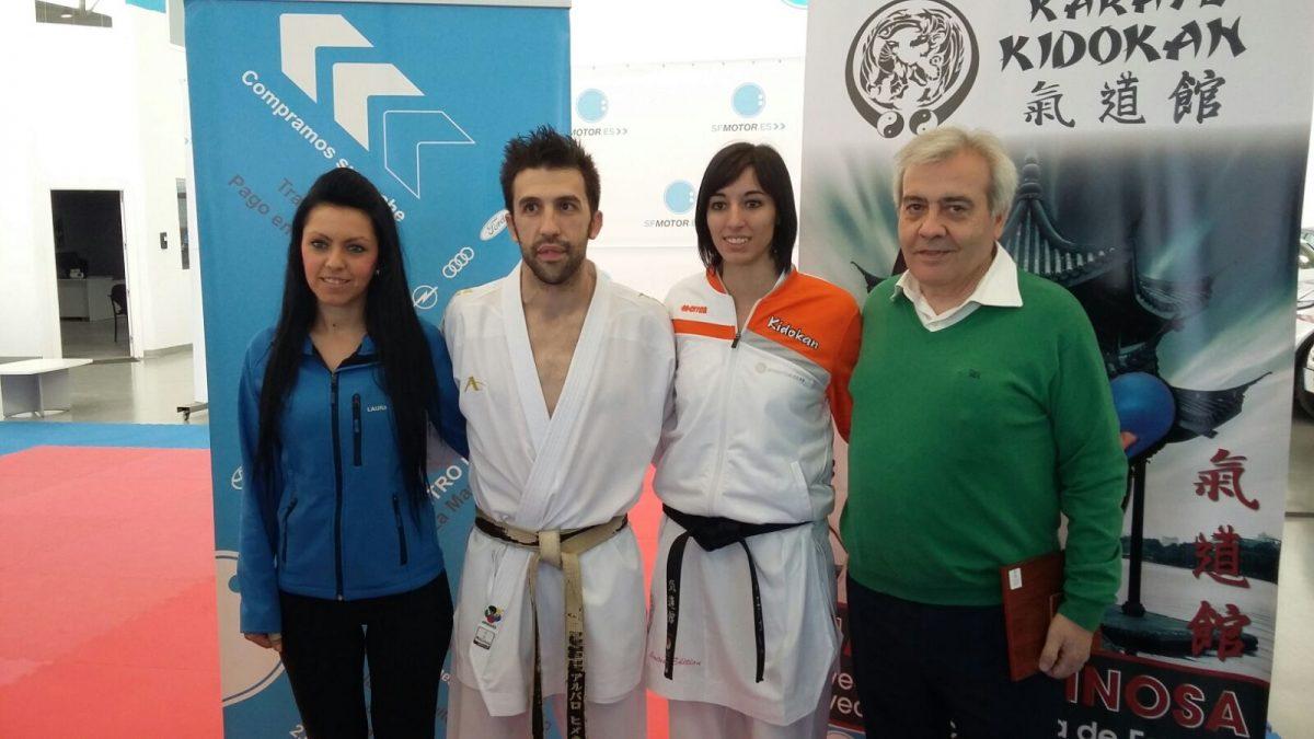El equipo de Gobierno municipal apoya el Clinic Kumite que ha dirigido este domingo la medallista internacional María Espinosa