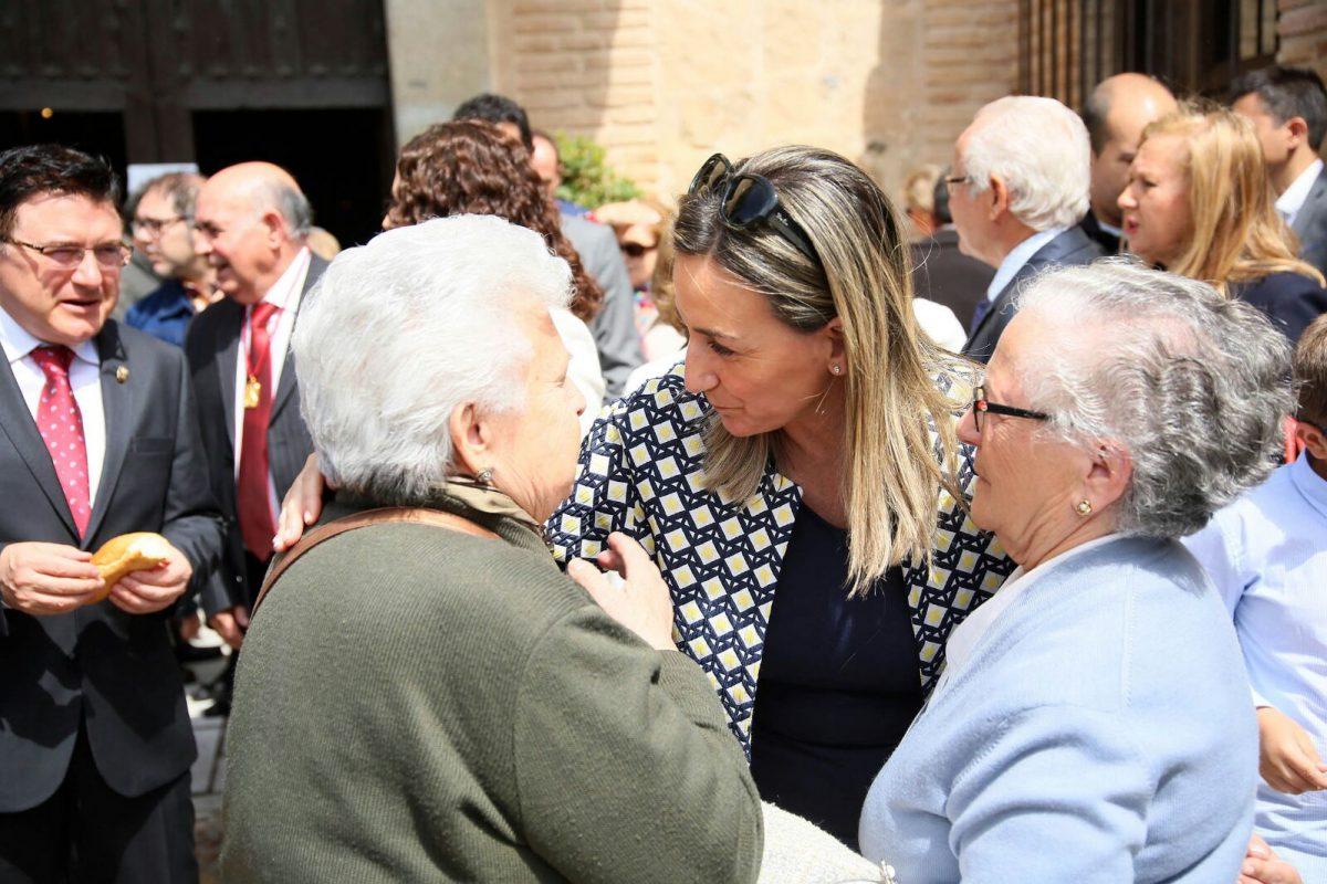 La alcaldesa participa en la Romería del Santo Ángel Custodio y en las actividades culturales y gastronómicas paralelas